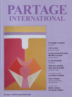 Revue Partage international